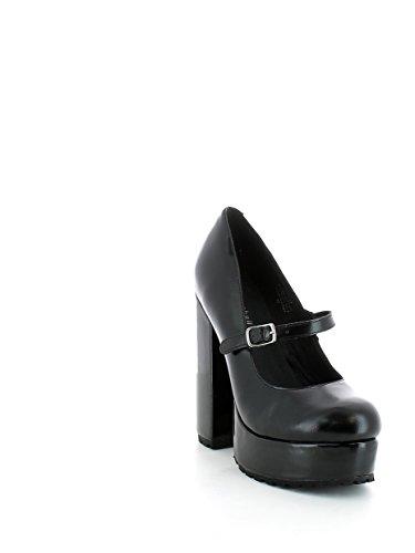 Jeffrey Campbell Adorlee, Zapatos de Tacón con Punta Cerrada para Mujer Negro (Nero)