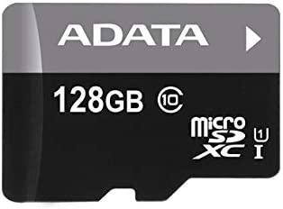 ADATA 128GB microSDXC + Adapter - Tarjeta de Memoria (128 GB, Micro Secure Digital Extended Capacity (MicroSDXC), 50 MB/s, FCC, CE, BSMI, VCCI, -25-85 ...