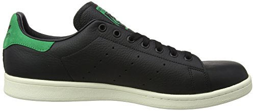 adidas Nero Black a Smith Core Stan Verde Black Basso Green Uomo Sneaker Core Collo rwvTr0gxn