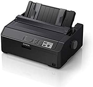 Epson LQ-590II Dot Matrix Printer - Monochrome (Renewed)