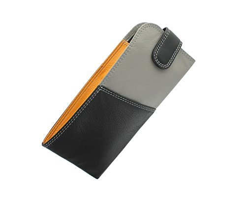 Visconti RB106 Soft Leather Eye Glasses Pouch / Sunglasses Case Holder by Visconti