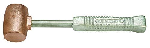 American Hammer AM5CUAG Sledge Hammer, 5 lb., 14 '' Copper/Aluminum, 3.25'' Height, 2.5'' Width, 14'' Length