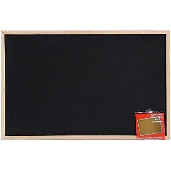 Dooley Wood Framed Chalk Board, 23 x 35 Inches (2436CH)