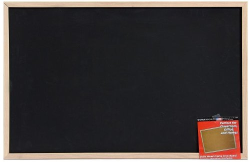 Dooley Wood Framed Chalk Board, 23 x 35 Inches (2436CH) by Dooley