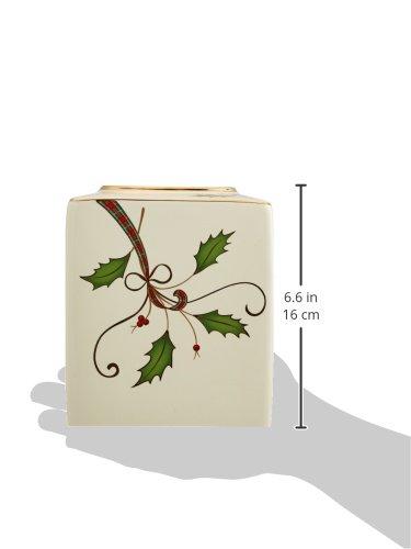 lenox holiday nouveau bath tissue holder import it all