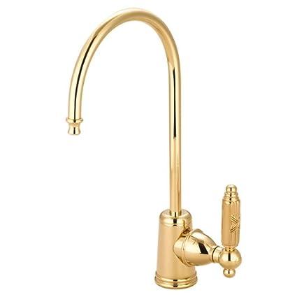 Oil Rubbed Bronze Kingston Brass Gourmetier KS7195GL Georgian Single Handle Water Filtration Faucet