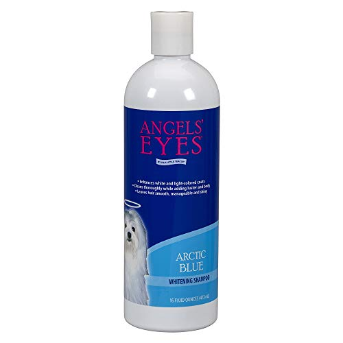 Angels' Eyes Whitening Shampoo for Dogs - 16 oz - Arctic Blue