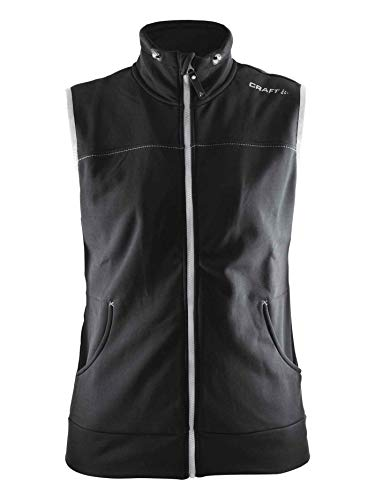 Craft Sportswear Women's Leisure Casual Training Sportswear Vest with Pockets, Galactic/Black, ()