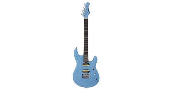 Marlin LK-R-LtBlue - Guitarra eléctrica (tilo americano), color azul ...