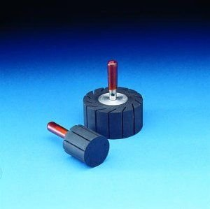 (3M 1-1/2 in dia x 1 in width - Rubber Slotted Expander Wheel - 77718 [PRICE is per WHEEL])