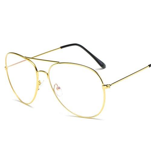 gafas sol aire Hombres espejo Vintage al deportes gafas de libre de Cuadrados OverDose K Mujeres qwp017wX