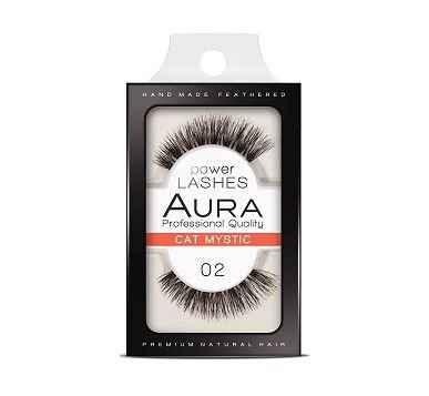 Aura Power Lashes Handmade From the Finest Natural Hair 02 Cat Mystic