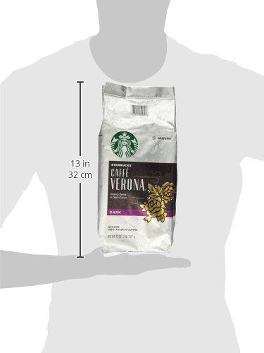 Starbucks Caffe Verona Ground Coffee, 2-Pound