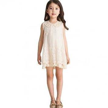 362453680 Bheema Girls Sleeveless Lace Pageant Dress 1-6Y Kids Princess Party  Birthday: Amazon.co.uk: Kitchen & Home