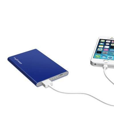 Mycharge - Razorplus Portable Power Bank - Blue