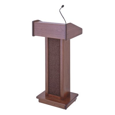 Soundcraft Series - Two Series Sound Floor Lectern Finish: Walnut