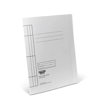 STYLEX STYLEX-43210 Schnellhefter, Color Karton, weiß