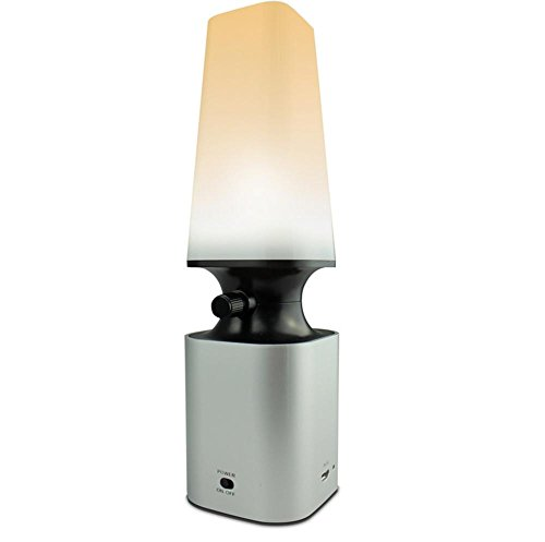 DMMSS Led Lampada Soffiata in Plastica Retro Notte Tipo Lampada A Cherosene Lampada Da Tavolo Da Tavolo Da Incasso USB Lampada Da Tavolo Piccola (59 19 124Mm), 2