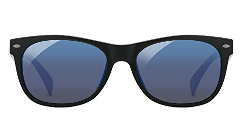 Enchroma Ellis - Color Blind Glasses (Black, Enchroma sunglass with blue anti-reflective - Colorblind Color Sunglasses For