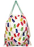 Iscream Gummy Bears Candy Drawstring Backpack, Bags Central