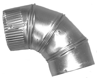 Midwest Ducts 401 10'' 90 deg Aluminum Adjustable Elbow