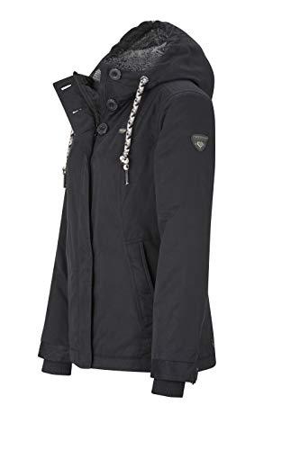 Sport Veste Black De 1010 Femme Ragwear EfRqwCq