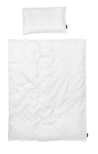 Elodie Details Parure de Lit Bébé, Housse Couette, White Edition, Blanc, 100 x 130 cm 103833