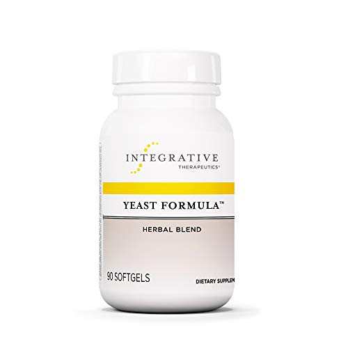 (Integrative Therapeutics - Yeast Formula - Herbal Blend - Supports Healthy Yeast Balance - 90 Softgels)