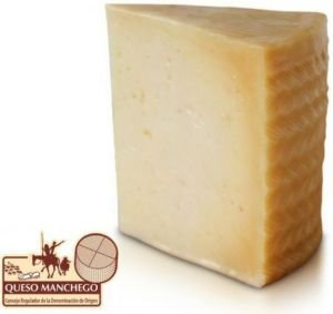 Manchego 6 months 1 lb wedge by Idea Gourmet Foods (Image #1)
