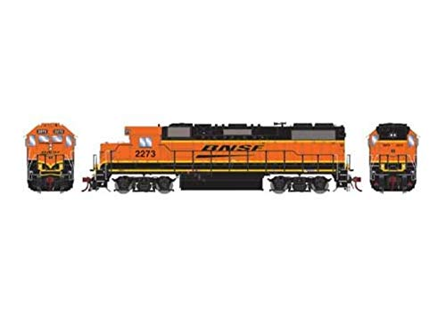 Athearn HO GP38-2 with DCC & Sound BNSF Wedge #2273, ()