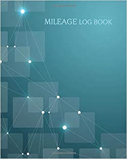 mileage log book vehicle mileage log book geometric pattern cover