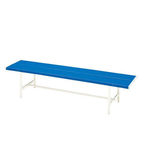 パブリックベンチ 背もたれなし 幅150cm ガーデンベンチ B009TARIUC 17064