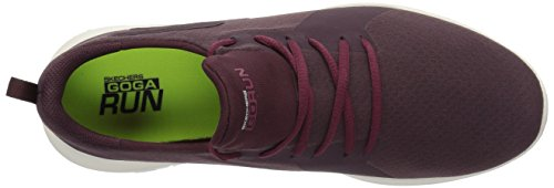 Femme Fitness Skechers Rouge Burgundy Mojo Go Run Chaussures de wwqApYX