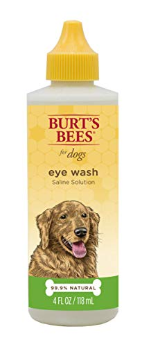 (Burt's Bees for Dogs Natural Eye Wash with Saline Solution | Eye Wash Drops for Dogs Or Puppies, 4oz)