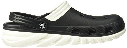 Unisex Adulti Sport Duet Crocs bianco Zoccoli Nero Max vwIzxXRq