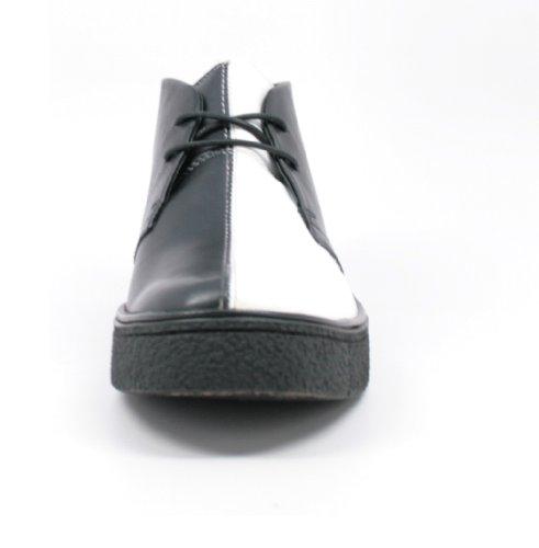 amazing price for sale discount price The Original British Walkers Men's Playboy High top Chukka Boot Black/White 2EcXK7