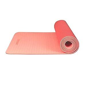 Retrospec Zuma Yoga Mat w/ Nylon Strap for Men & Women – Non Slip Exercise Mat for Yoga, Pilates, Stretching, Floor…