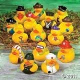 100 pc Mega Rubber Duck Ducky Duckie Assortment