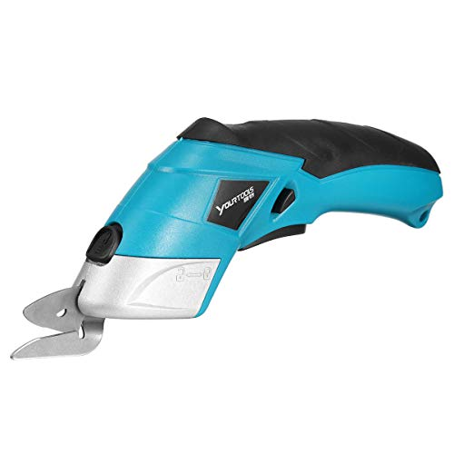 - 220V 20W Cordless Multi-Cutter Lithium-Ion Electric Scissors Leather Fabric Cutting Tool 10000rmp