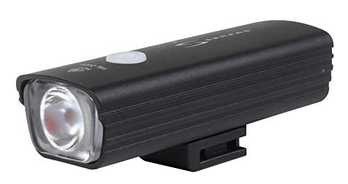 Serfas E-Lume 450 Aluminum Body Headlight One Size, Black