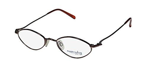 1e897fe4964 Marcolin 2031 Womens Mens Designer Full-rim Titanium Light Weight Classy  Eyeglasses Glasses