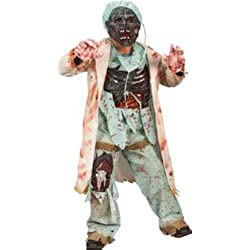 Big Boys' Zombie Doctor Costume - S