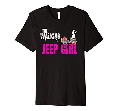 Jeep Shirt, Jeep Girl gift clothing, the Walking halloween