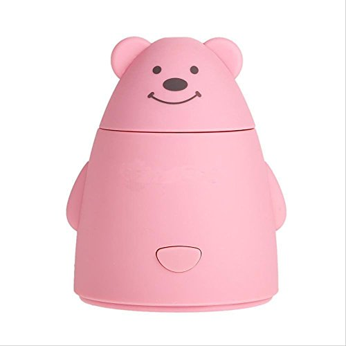 Portable Mini USB Humidifier Air Purifier Aroma Diffuser Atomizer Office Home (Pink)