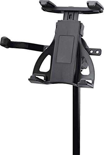 K&M Stands 19742 Universal Tablet Holder-Microphone Stand Mount