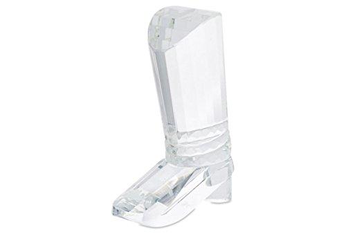 Oleg Cassini Crystal Cowboy Boot Paperweight