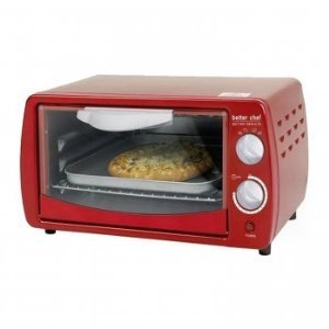 Better Chef IM-268R Classic Red Toaster Oven