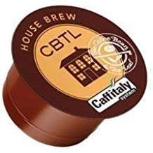 CBTL House Brew Capsules - 100 Count (10 Boxes of 10)