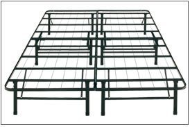 amazoncom platform bed frame and foundation combination queen kitchen dining