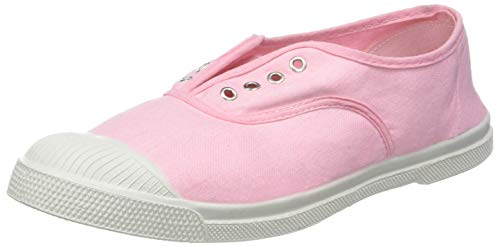 Rose Baskets 0476 Bensimon Femme Elly Tennis blanc Dragée 1Z4q4UTv